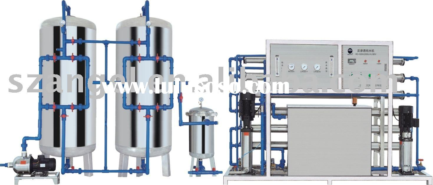6000L/H mineral water plant