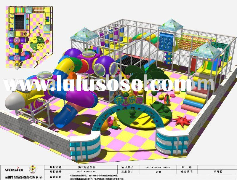 Children soft playground equipment