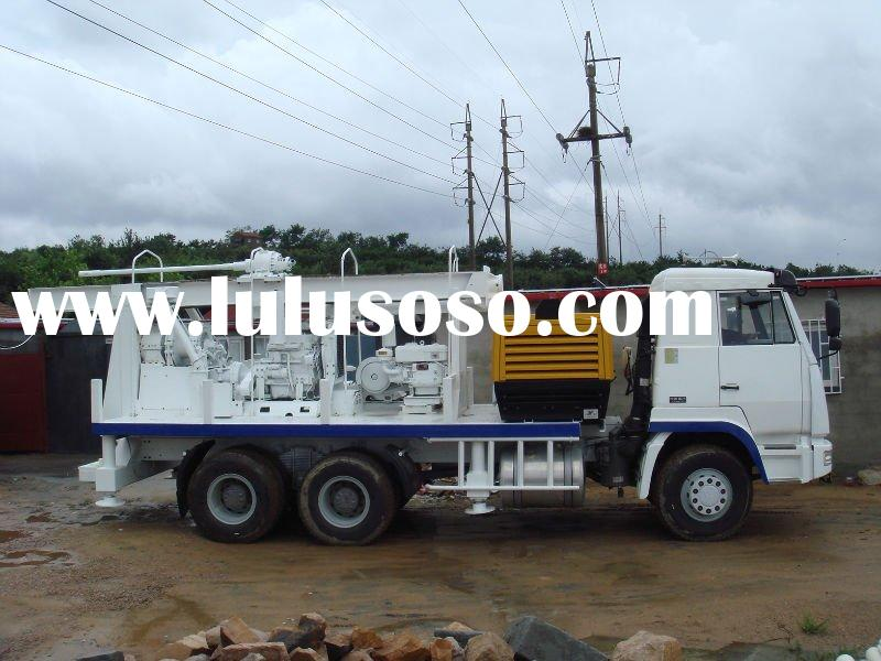 DZS350 truck-mounted water well drilling rig
