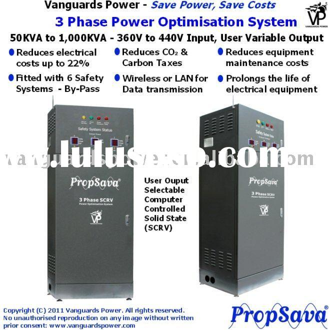 Electric Bill Saver, VP PropSava 3 Phase Power Optimisation System