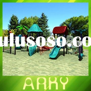 High Quality Outdoor Amusement Park Toy With Rock Climbing