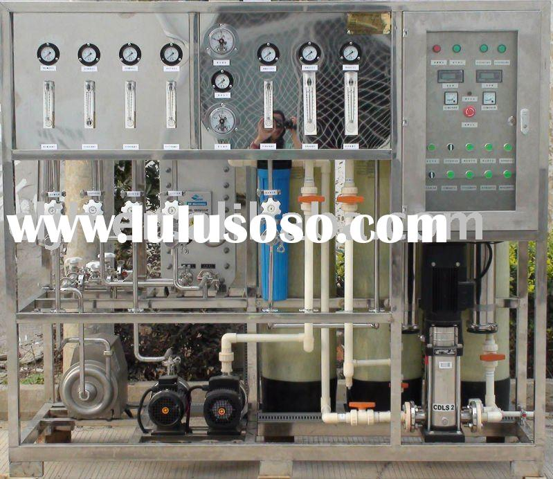 High pure water treatment equipment, Reverse osmosis for drinking water
