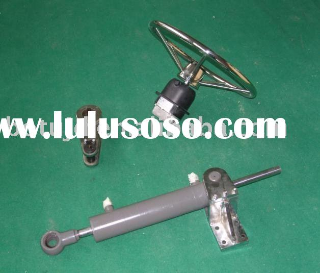 Manual hydraulic steering gear