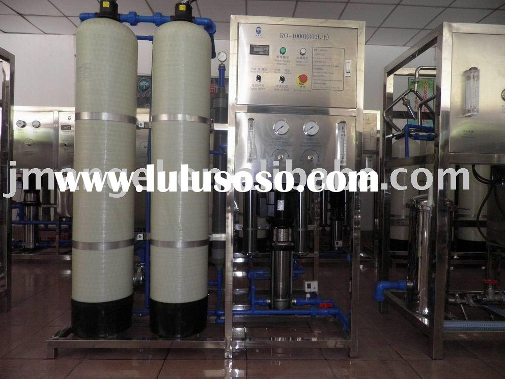 Pure water equipment for bottled filling line