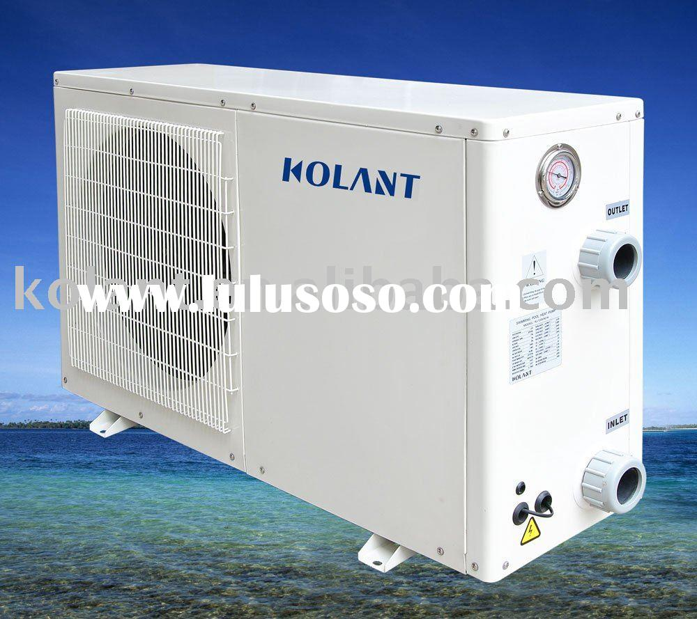 Compact heat pump air source water heater for sale price - Swimming pool heat pump vs gas heater ...