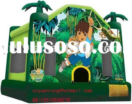 The most popular inflatable Go-Diego castle inflatable slide inflatable bouncer