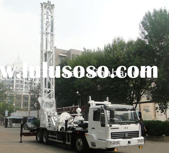 Truck - mounted water well drilling rigs