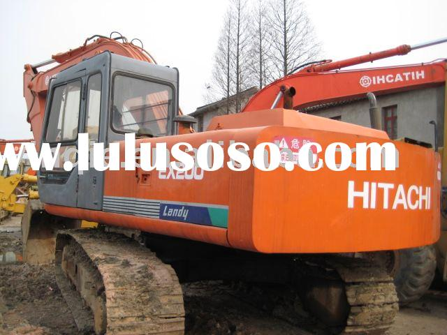 Used construction equipment,used excavators,hitachi ex200-2