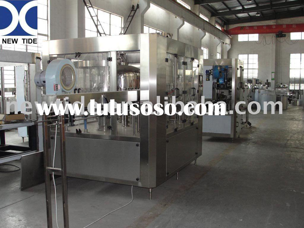 Water bottling equipment