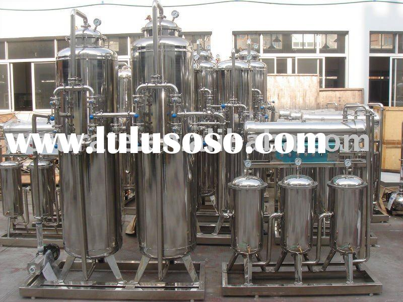 Water treatment equipment / Mineral water production line
