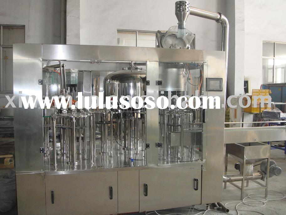 bottled water packing machinery