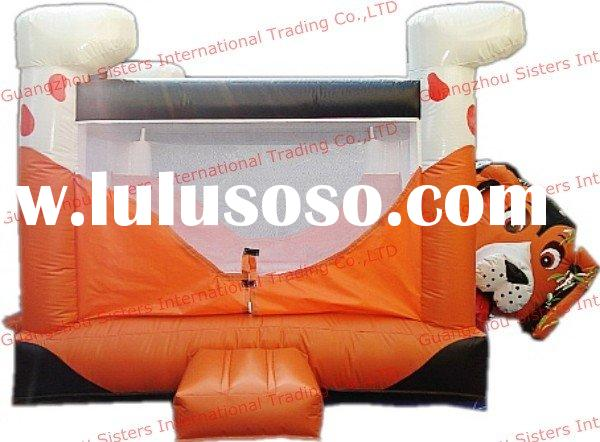 dog inflatables jumping bouncer