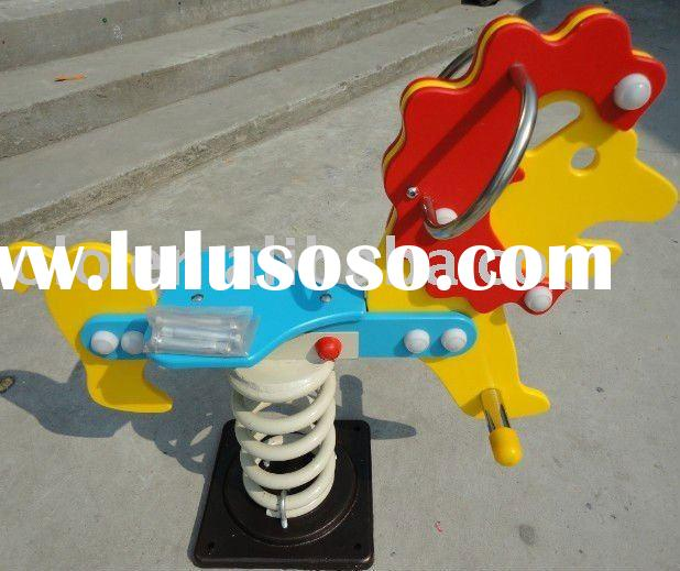 horse rider    outdoor playground equipment    animal rider