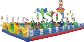 inflatable play ground,inflatable amusement park,outdoor playground