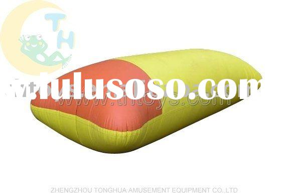 inflatable water games, Jumping cushion, bounce mat