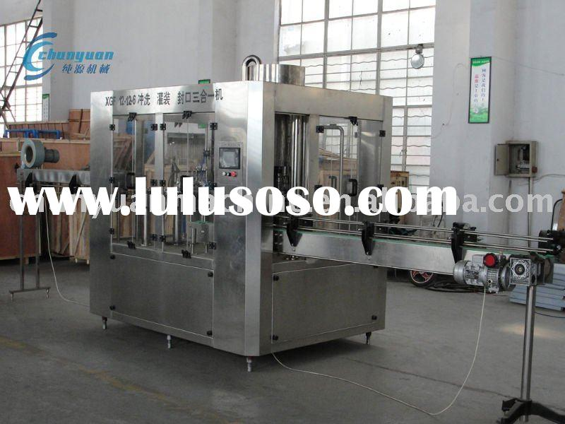 mineral water bottling equipments