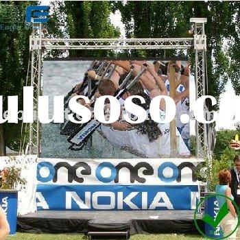 outdoor advertising equipment rental LED display
