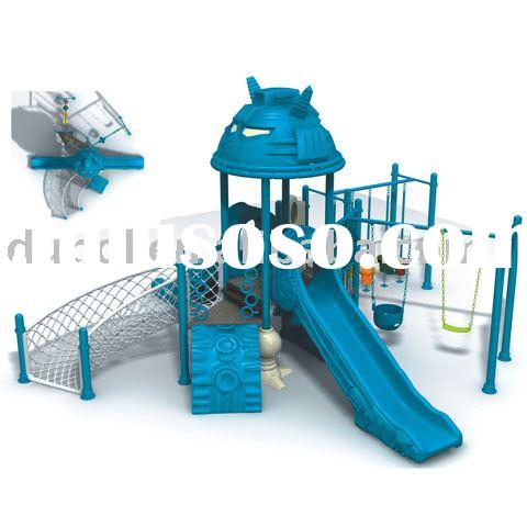outdoor play equipment (plastic slide,park equipment)