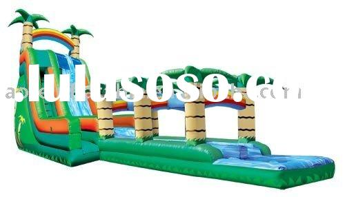 outdoor playground , inflatable leisure equipment , inflatable new slide ,inflatable slide games