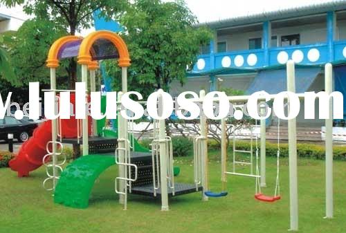 plastic outdoor playground