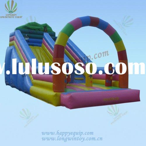 rainbow bouncer slide