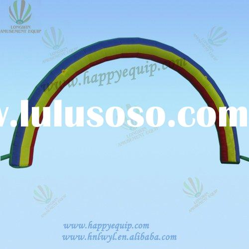 rainbow inflatable arches