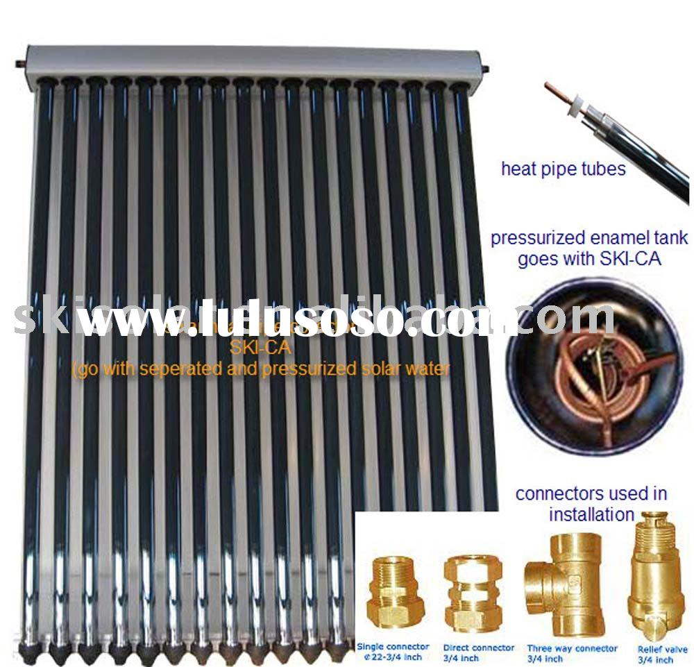 solar heat pipe collector, SKI-CA, ISO & CE