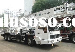 truck mounted water well drilling rig kxd350B
