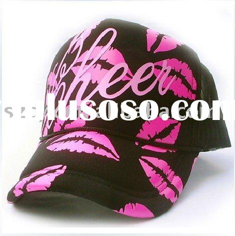 100% cotton fashion cap with embroidery logo