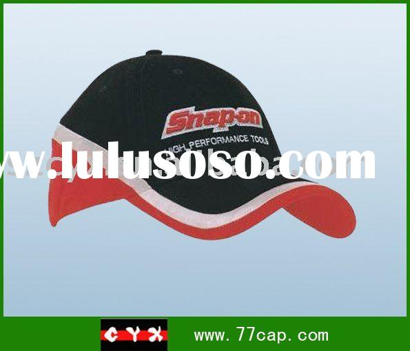 100% cotton sports cap with embroidery logo