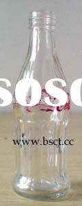 100ml Coca cola Glass beer Bottle with screw cap