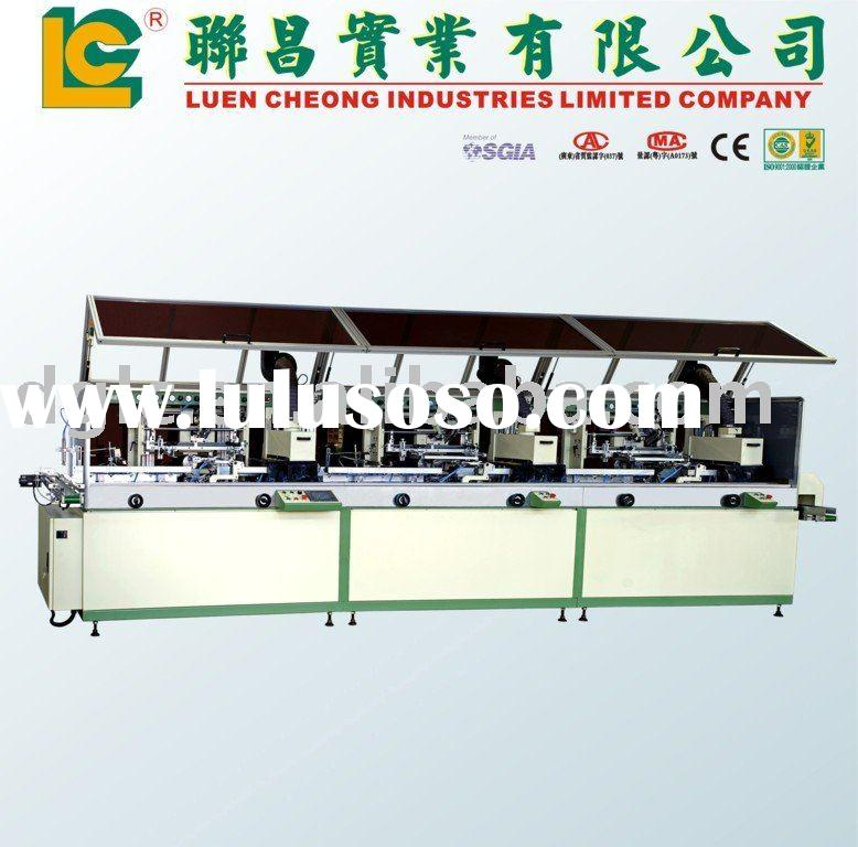 3 Color Cola Bottle Screen Printing Machine