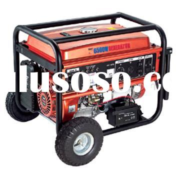 6,500W Electric Start 13HP CARB, EPA, CE Approved Generator with Mobility Cart
