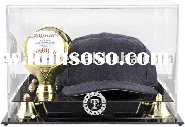 Acrylic Display Box,Lucite Baseball Cap Display,Plexiglass Cap Holder