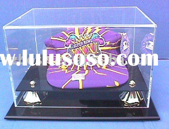 Acrylic Display Box, Perspex Baseball Cap Display, Plexiglass Cap Holder
