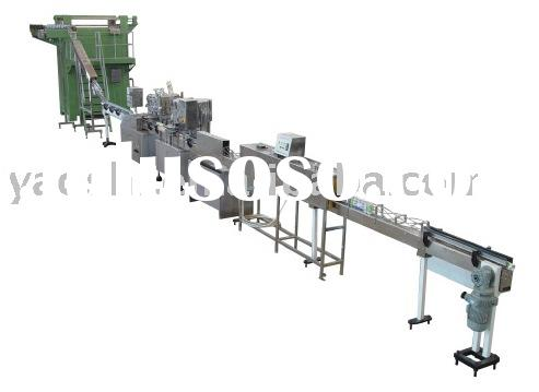 Aluminium POP-TOP can filling line, machine