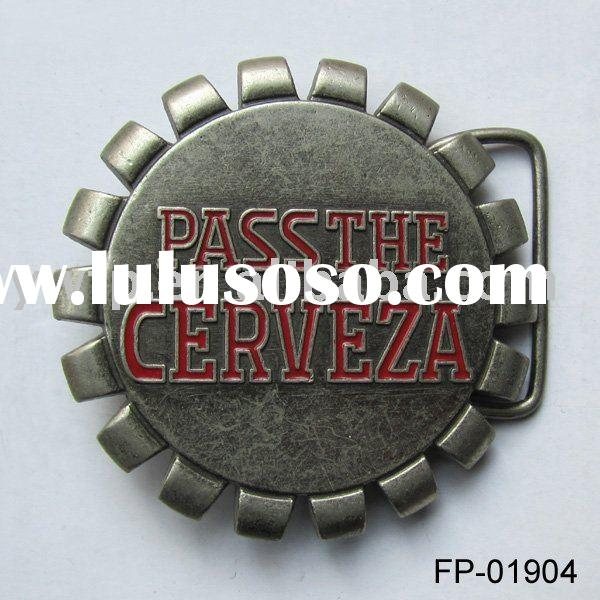 Bottle cap belt buckle