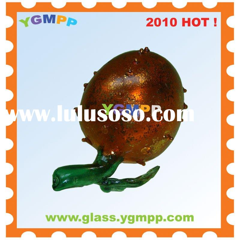 Sell YGM-GO38 Glass Fruit Home Decoration