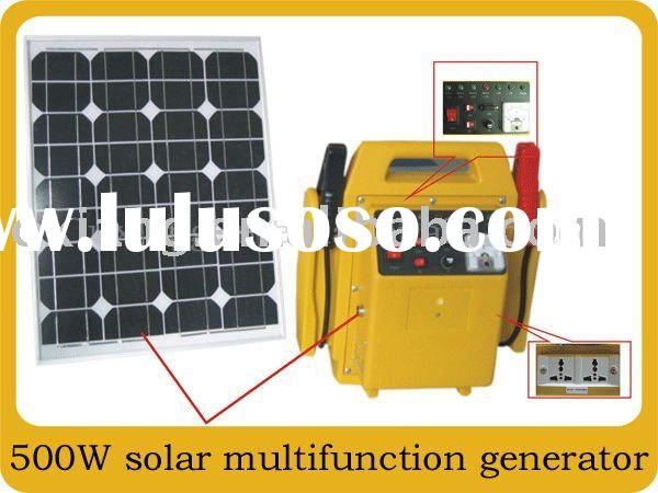 Solar power generators Store a small generators at home