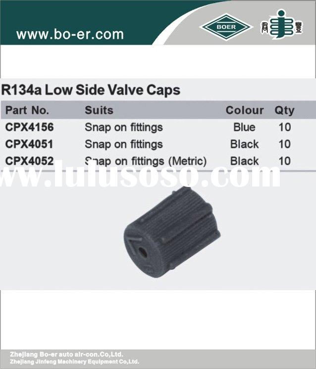 automotive/ auto/  A/C PARTS: R134a Low Side Valve Cap