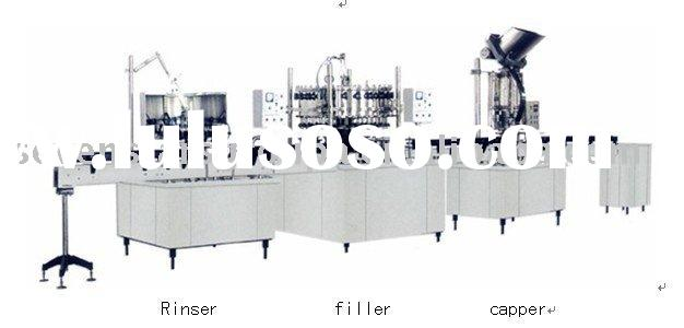 beverage machine for soda or carbonated drinks