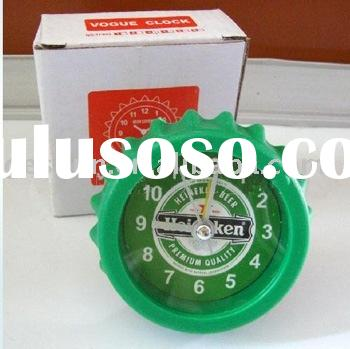 bottle cap clock/craft clock/gift clock