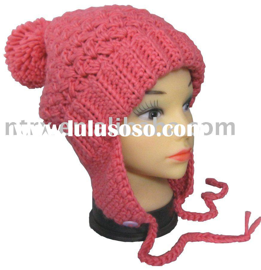 fashion cable winter hat for women