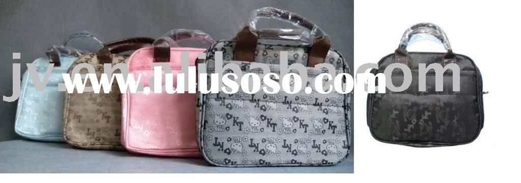 """10"""" Hello Kitty Notebook Briefcase Carrying Bag Suitcase Shoulder Bag"""
