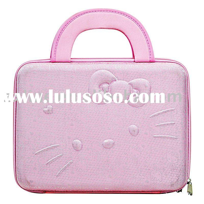 "14"" Hello Kitty Hard Laptop Case Computer  Bag"