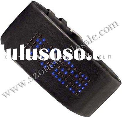 2010 new fashion led watch with 80 led light watch