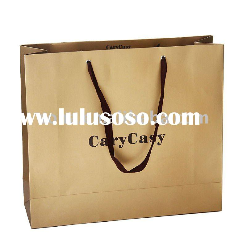 2011 Fashion paper shopping bag