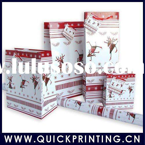 2011 Gift Paper Bag with Innovative Design