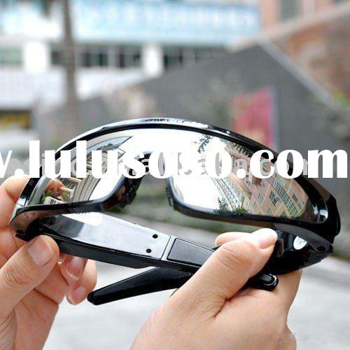 4GB Fashionable monitor Sunglasses with Hidden Video Lens