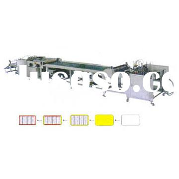 Automatic Book Cover Decoration Machine(packaging machine,paperboard covering machine, book cover)